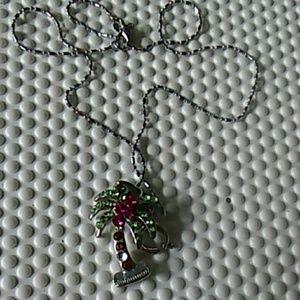 Jewelry - Palm tree necklace
